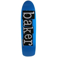 "Baker Blue Stunted Mini Cruiser Deck 8.0"" Skateboard New Aus Seller Kingpin Shop"