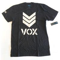 VOX T-SHIRT TRADEMARK TEE BLACK AUS SELLER SKATEBOARD T-SHIRT TSHIRT NEW