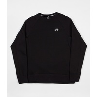NIKE SB ICON CREW FLEECE BLACK FREE POSTAGE AUSTRALIAN SELLER