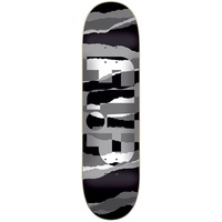 "FLIP Skateboard Odyessey TORN GREY SCALE 8.25"" Deck Skate Free Grip Free Post"