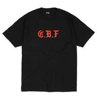 Last Call CBF T-Shirt Black Red New Skate Free Postage Aus Kingpin Skate Shop