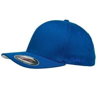 FLEXFIT PERMA CURVE CAP ROYAL 6277 NEW FLEX FIT CAP AUST HAT HATS CAPS