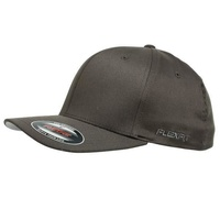 FLEXFIT PERMA CURVE CAP DARK GREY 6277 NEW FLEX FIT CAP AUST HAT HATS CAPS