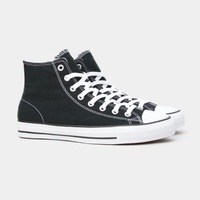 CONVERSE CTAS PRO HI BLACK WHITE OX CANVAS CHUCK TAYLOR SHOES ALL STARS