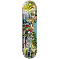 "ALMOST Skateboard DAEWONG SONG 8.0"" DECK LOW RIDERS R7 FREE GRIP LOWRIDERS"