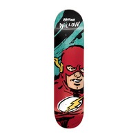"ALMOST SKATEBOARD SKETCHY FLASH WILLOW 7.75"" DECK R7 FREE GRIP"