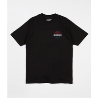 Buttergoods Commonwealth Outline T-shirt Black Skate Worldwide Free Post Butter