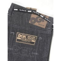 DGK JEANS RAW DENIM STRAIGHT FIT JEANS SKATE SKATEBOARD