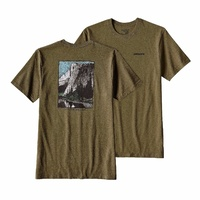 Patagonia Men's El Cap Classic Cotton/Poly Responsibili-Tee 39049 Gorge Green