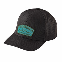 Patagonia CAP Arched Type '73 Roger That Hat Cap Aust Seller 38178 BLACK