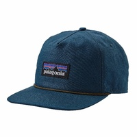 Patagonia CAP P-6 Label Stand Up Hat Aust Seller Bay Blue 38104