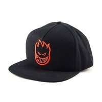 SPITFIRE BIG HEAD CAP BLACK SNAPBACK NEW AUST SELLER FREE POST CAPS HAT