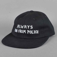 Five Boro Always Run Cap New Black Hat Skate Free Post Aus Strap Back 5 Boro