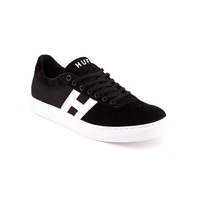 HUF SOTO BLACK WHITE SHOES LOW NEW FREE POST AUSTRALIAN SELLER KINGPIN SHOP