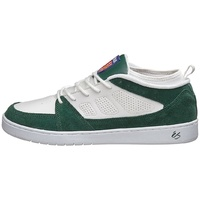 ES SHOES SAL SLB MID WHITE GREEN SKATEBOARD FREE POSTAGE AUSTRALIAN SELLER