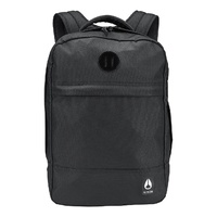 NIXON BEACONS BACKPACK II ALL BLACK PACK NEW FREE POSTAGE AUSTRALIAN SELLER