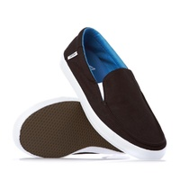 VANS SHOES BALI SLIP ON BLACK/WHITE SKATE SKATEBOARD SURF CASUAL KINGPIN STORE