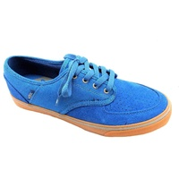 VOX SHOES CLASSX SAND / BLUE / GUM SKATE SKATEBOARD FREE POST NEW MAROON
