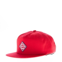 BRIXTON SCOUT SNAPBACK CAP RED HAT SKATE SK8 SHOP FREE POSTAGE AUSTRALIAN SELLER