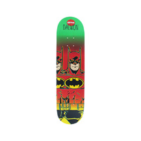 "ALMOST Skateboard DAEWON 8.25"" DECK BATMAN FADE R7 FREE GRIP"