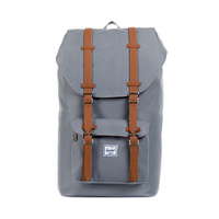 HERSCHEL LITTLE AMERICA GREY TAN BACKPACK KINGPINSUPPLY BACK PACKS BAGS BAG