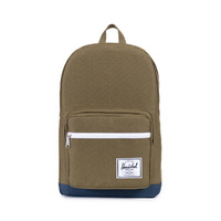HERSCHEL POP QUIZ ARMY / NAVY BACKPACK BACK PACKS BAGS BAG NEW FREE POST