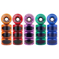 Z-FLEX Z-SMOOTH SKATEBOARD WHEEL 63MM 78A LONGBOARD ZFLEX FREE POST AUSTRALIAN