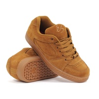 Es Accel OG BROWN / GUM SHOES ES AUST SELLER FREE POST SKATEBOARD KINGPIN SKATE