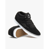 EMERICA SHOES THE WESTGATE MID VULC BLACK / WHITE SKATE NEW AUST FREE POST SK8