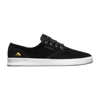 EMERICA SHOES ROMERO LACED BLACK / WHITE SKATE SHOE NEW AUST SELLER FREE POST