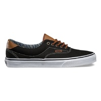 VANS ERA 59 BLACK / STRIPE DENIM SHOES MENS AUST SELLER WOMENS SKATEBOARD