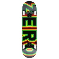"ZERO COMPLETE SKATEBOARD SANDOVAL SIGNATURE BOLD 7.75"" FREE POST AUST SELLER NEW"
