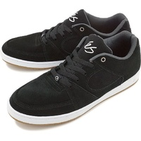 ES ACCEL SLIM BLACK / WHITE / GREY SHOES ES AUST SELLER SKATEBOARD SKATE KINGPIN