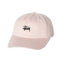 STUSSY STOCK LO PRO STRAPBACK WHITE HAT CAP 6 PANEL NEW AUSTRALIAN
