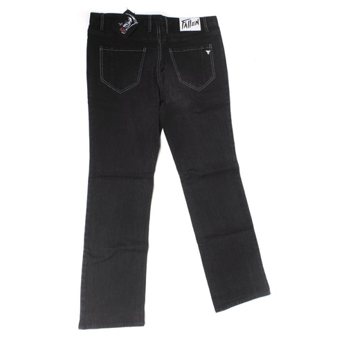 FALLEN JEANS CHRIS COLE BLACK DENIM DENIM JEANS ZERO SKATEBOARDS FA410005