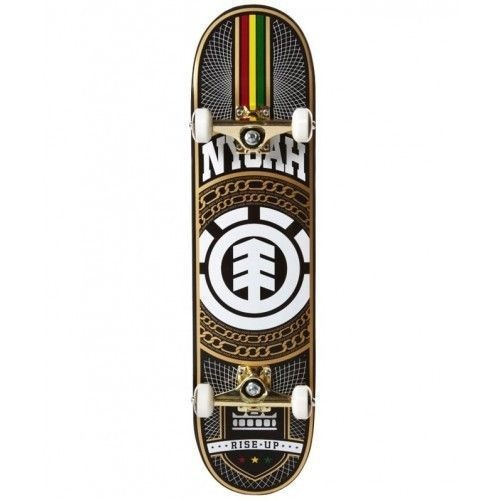 "ELEMENT SKATEBOARD COMPLETE NYJAH HUSTON BOX SET 7.75"" AUSTRALIAN  FREE POSTAGE"