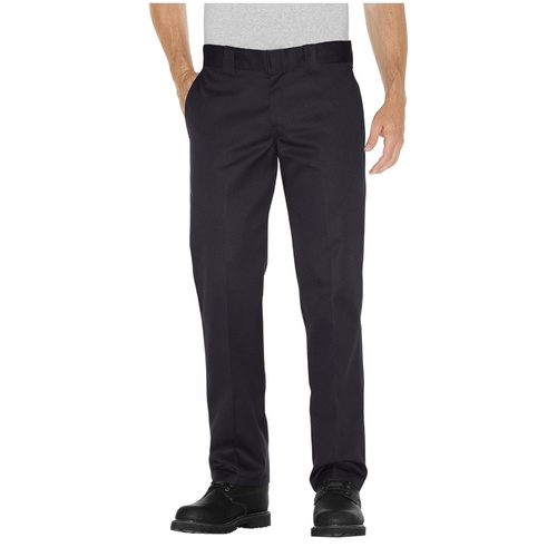 DICKIES STRAIGHT SLIM FIT WORK PANTS BLACK KINGPIN SKATE FREE POST AUS SELLER
