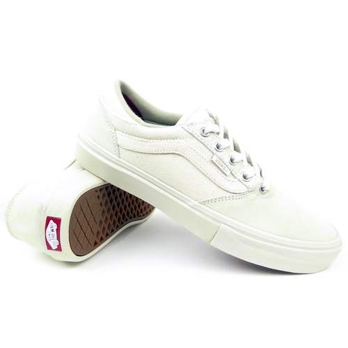 VANS SHOES GILBERT CROCKETT NATURAL CANVAS FREE POSTAGE AUSTRALIAN SELLER