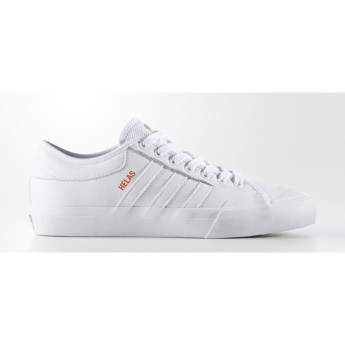 ADIDAS ORIGINALS MATCHCOURT X HELAS SKATEBOARD SHOES LEATHER NEW BY4535 WHITE