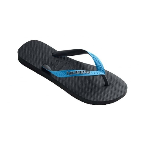 HAVAIANAS Top Mix Grey / Turquoise MALE Thongs Sandals Male Flip Flops