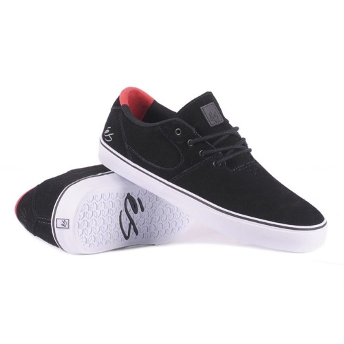 ES SHOES ACCEL SQ BLACK / RED SHOE NEW FREE POSTAGE AUST SELLER KINGPINSTORE