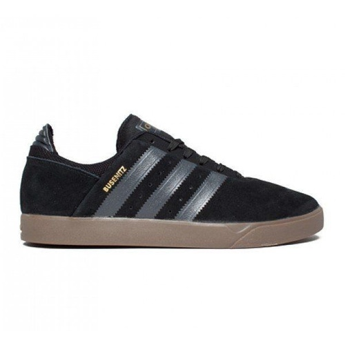 ADIDAS ORIGINALS BUSENITZ ADV BLK/GUM SHOES MENS BLACK FREE POSTAGE AUST SELLER