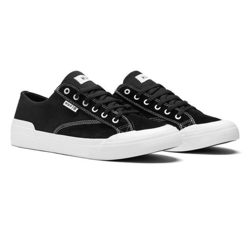 HUF CLASSIC LO ESS BLACK WHITE SHOES LOW NEW FREE POST AUSTRALIAN SELLER