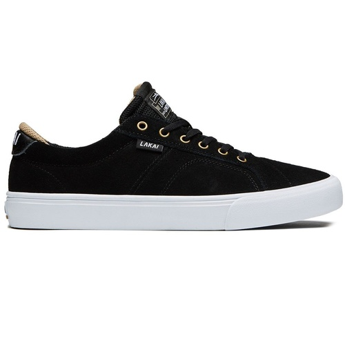 LAKAI FLACO BLACK SUEDE NEW SKATEBOARD SHOES FREE POSTAGE AUST SELLER