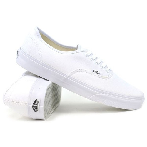 VANS AUTHENTIC TRUE WHITE SHOES NEW SHOE AUSTRALIAN SELLER KINGPIN SKATE SURF