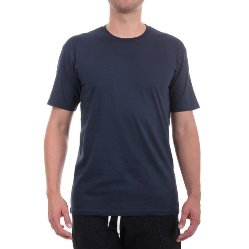AS COLOUR T-SHIRT STAPLE TEE PLAIN NAVY NEW MENS AUSTRALIAN SELLER KINGPIN