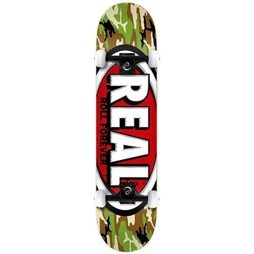 "REAL COMPLETE SKATEBOARD AWOL OVAL 7.75"" MED FREE POST AUST SELLER NEW SKATE"