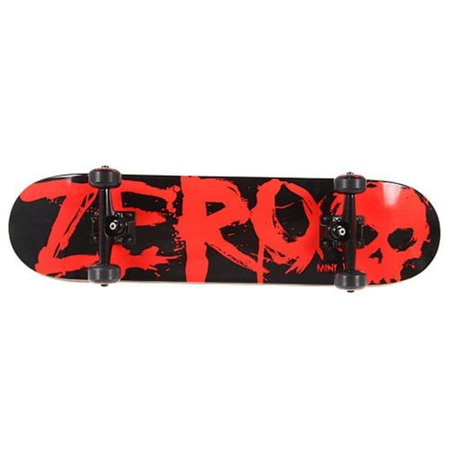 "ZERO COMPLETE SKATEBOARD BLOOD MINI YOUTH 7.0"" AUST SELLER NEW"