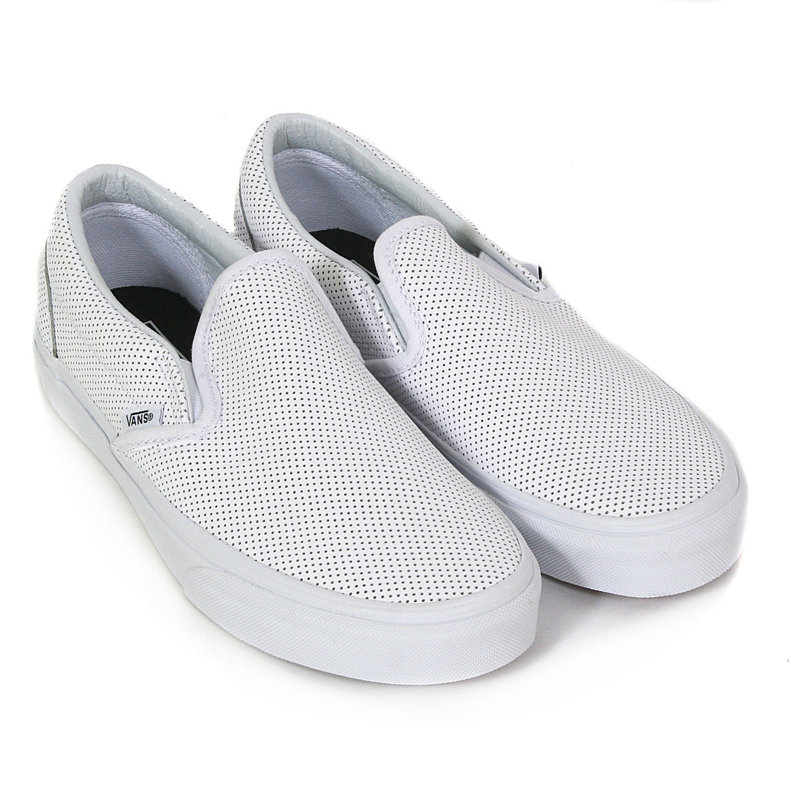 VANS-SHOES-CLASSIC-SLIP-ON-WHITE-PERFORATED-LEATHER-CSO-FREE-POST-AUST-SELLER thumbnail 15