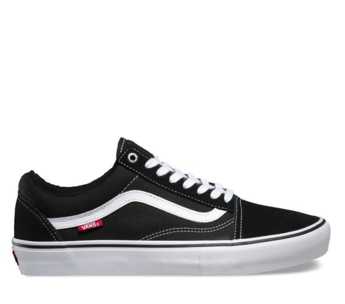 VANS-OLD-SKOOL-PRO-SHOES-BLACK-WHITE-AUSTRALIAN-SELLER-FREE-POSTAGE-KINGPIN thumbnail 5